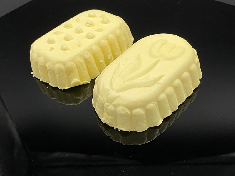 Bio Butter gestürzt