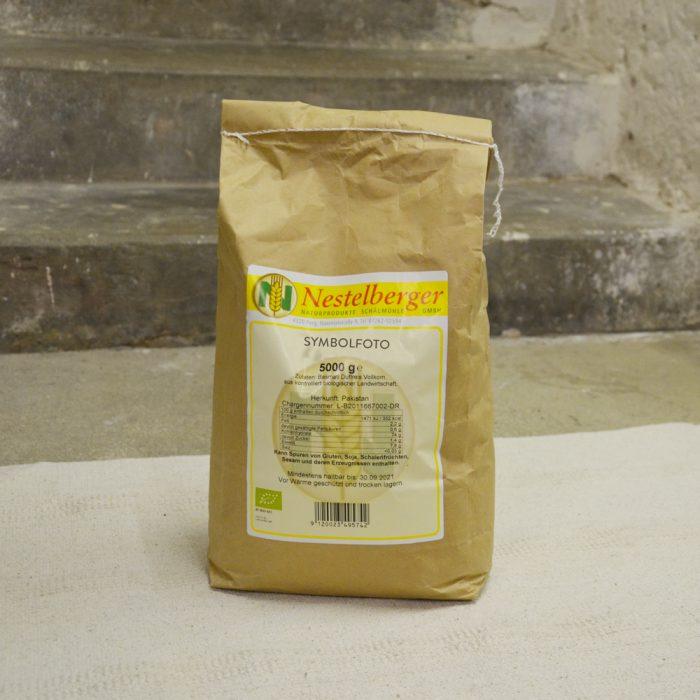 5 Kilo Papiersack geriebene Bio Haselnuesse