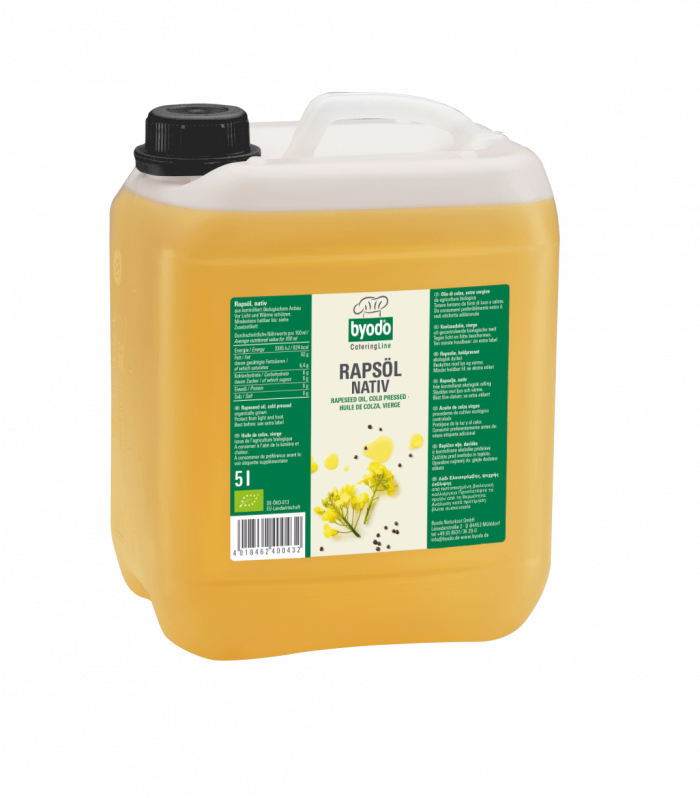 5 Liter Bio Rapsoel