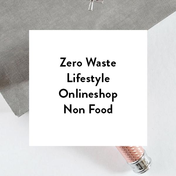 Zero Waste Lifestyle Onlineshop