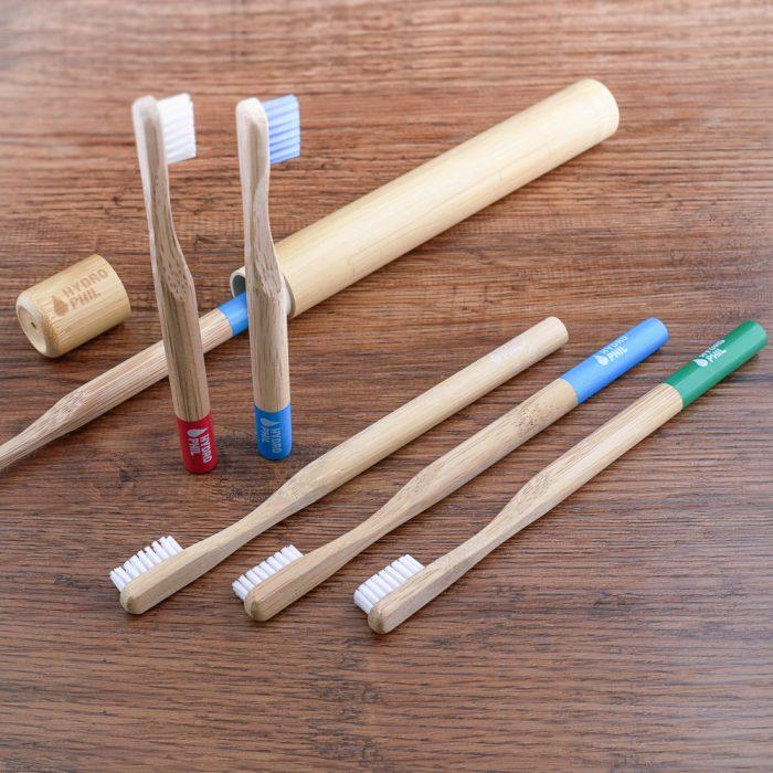 Bambus-Zahnbuersten fuer Erwachsene und Kinder
