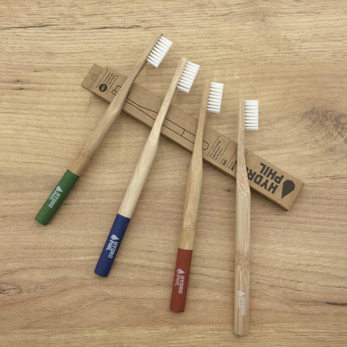 Bambus-Zahnbuersten fuer Erwachsene