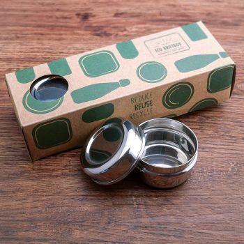 Dreiteilige Edelstahl Chutneyboxen von Eco-Brotbox