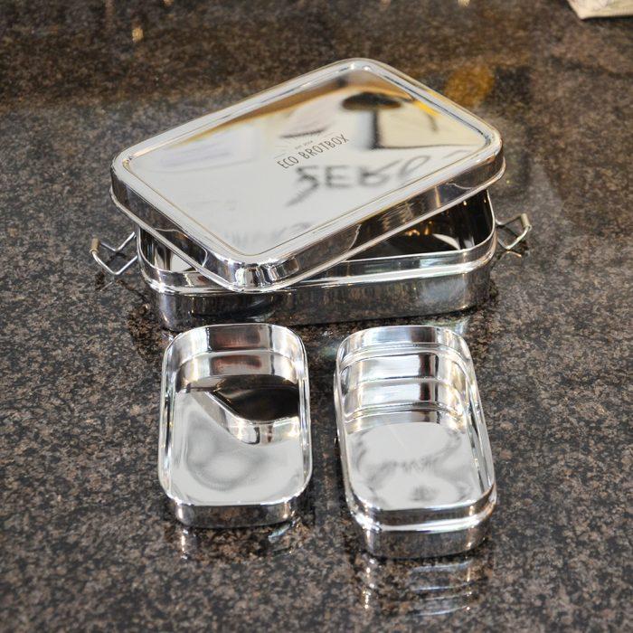 Brotbox XL mit Snackbox Uebersicht