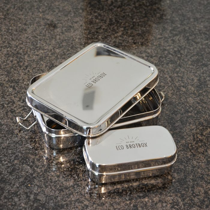 Brotbox XL mit Snackbox unverpackt