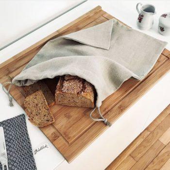 Brotsack aus Reinleinen Vieboeck