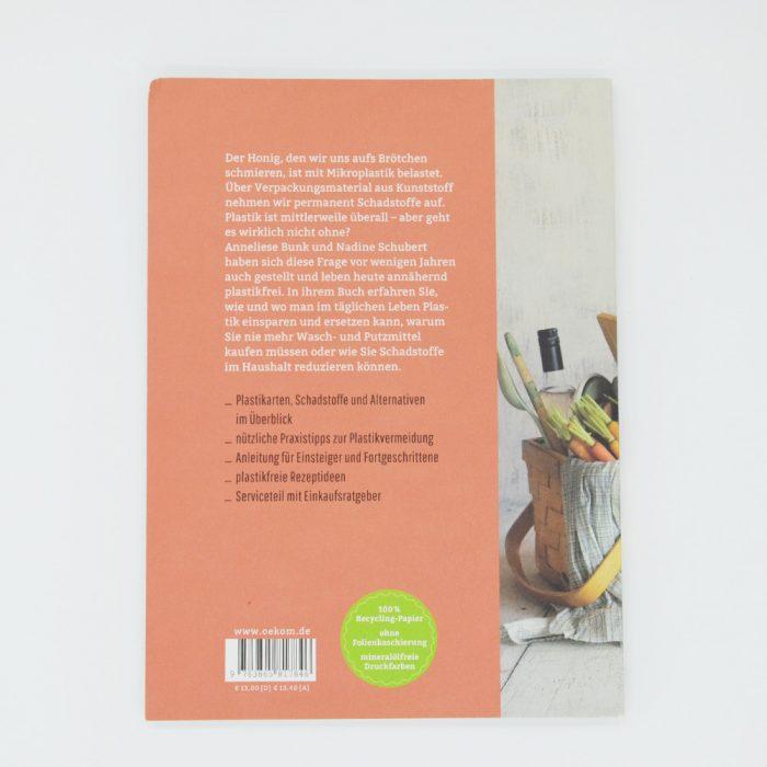 Buchbeschreibung Besser leben ohne Plastik