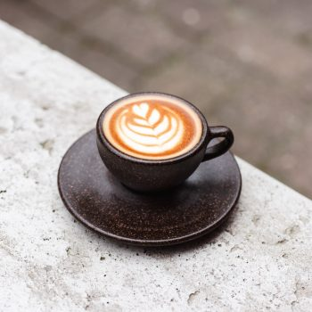 Cappuccino Cup mit Kaffee