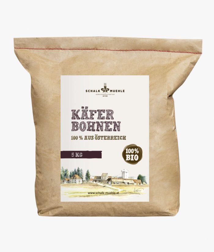 Bio Kaeferbohnen Schalkmuehle 5 Kilo Symbolbild