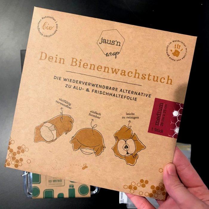 Zero Waste Kit das Gramm Basics Bienenwachstuch