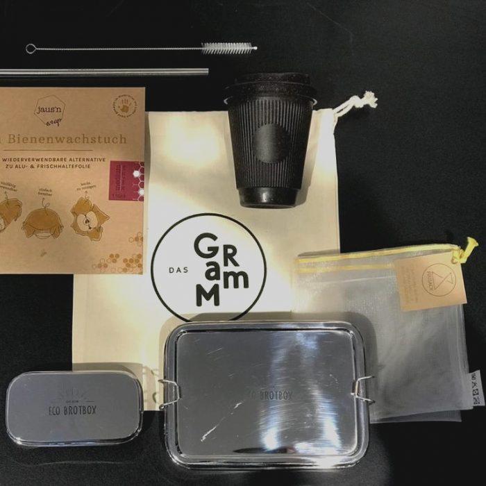 Zero Waste Kit das Gramm Basis Uebersicht