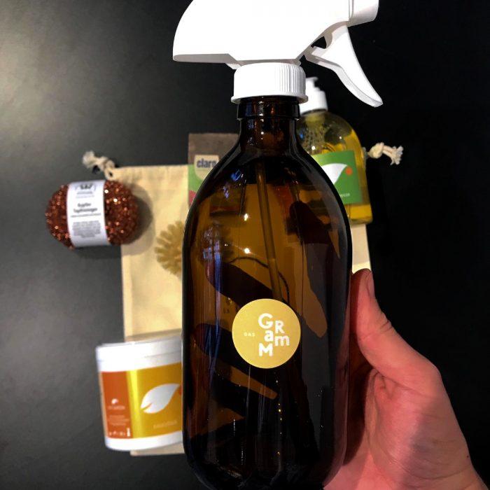 Zero Waste Kit Reinigung Spruehkopfflasche