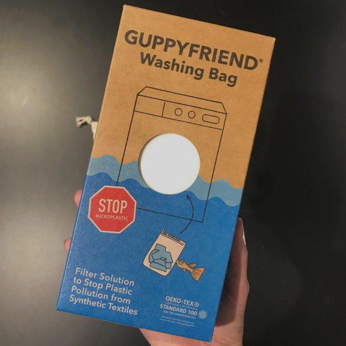 Zero Waste Kit Waesche Guppyfriend Waschbeutel