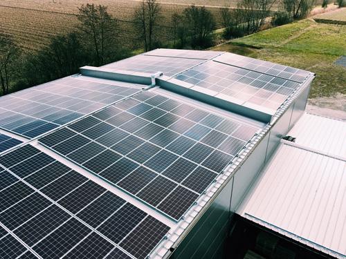 Photovoltaikanlage der Schalkmühle