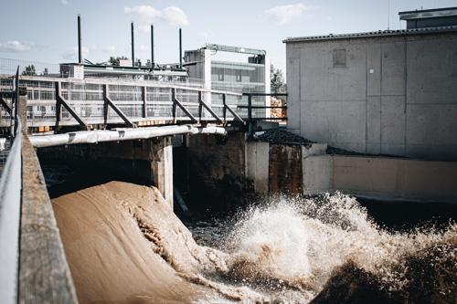 Foto Wasserkraftwerk der Schalkmühle